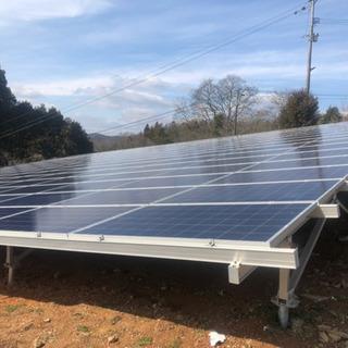 石巻市 太陽光発電所建設工事
