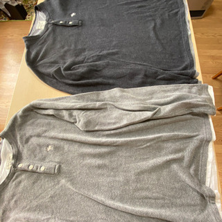 Abercrombie&fitchの長シャツ