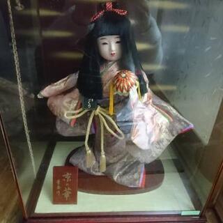 【値下げ】節句人形 童春作 京の華 女の子 鞠