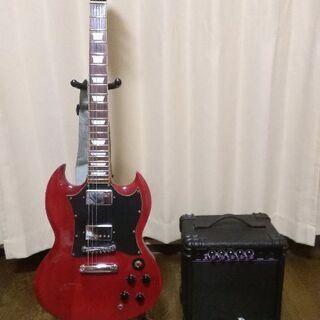 エレキギター と アンプ