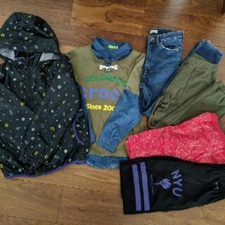 子供服 男の子 150cm まとめ売り 上着2着 ズボン4着の画像