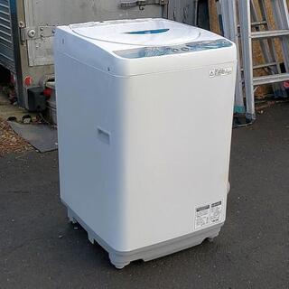 5.5㌔洗濯機◆SHARP◆2012年◆保証付き◆配送設置…