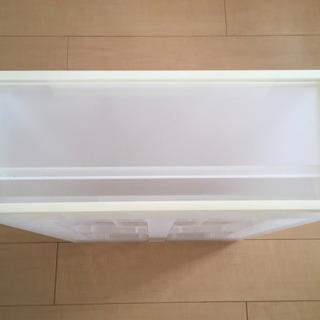 無印良品 PPクローゼットケース引出式・小宅(V)約幅44×奥...