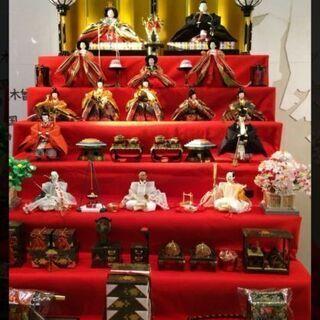 七段飾り雛人形(徳川作)あげます。早い者勝ち!