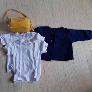 通園バッグと制服セット