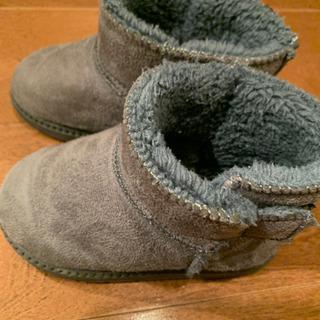 ブーツ グレー