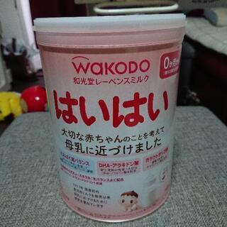 【値下げ】ミルク缶 はいはい 未開封