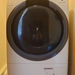 2019年製【5年保証付】SHARPドラム式洗濯乾燥機7kg/3...