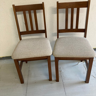 ☆美品☆ダイニング椅子2脚の画像
