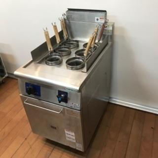 タニコー ゆで麺器 TU-50AN 6テボ LPガス 茹で麺器 ...