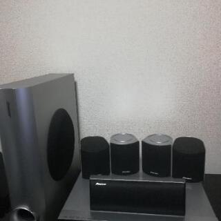 Pioneer CD DVD デッキ サラウンドスピーカー…