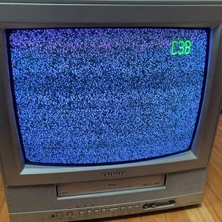 14型 地上アナログテレビデオ 本体のみ 下取り用に!