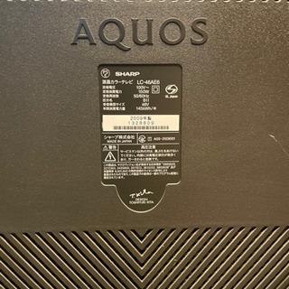 AQUOS 大画面46インチ 2009年 - 携帯電話/スマホ