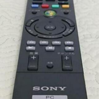 SONY ソニー 純正 VAIO PC リモコン RM-MCE50D ブラック. 新品同様の画像