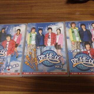 ロケットボーイズ DVD3本セット&D-BOYSファイル