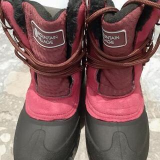 【ネット決済】23.5cm 新品同様 雪の日用ブーツ