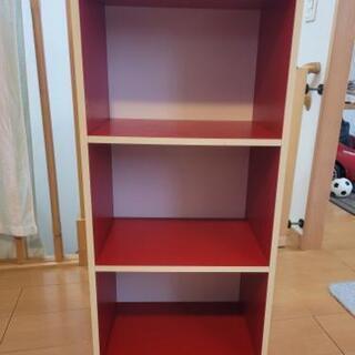 【ネット決済】赤❌白 のカラーボックスをお譲りします‼️