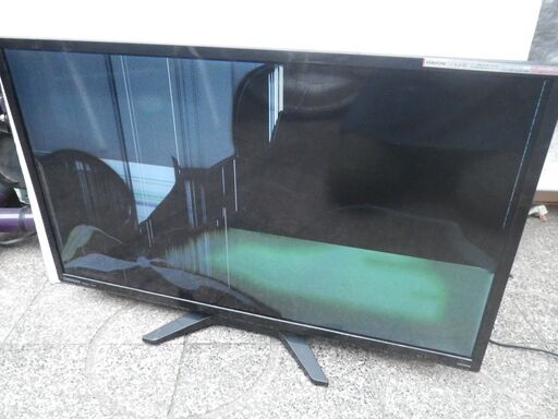 液晶 修理 テレビ 割れ
