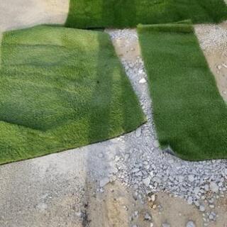 人工芝 切れ端の画像