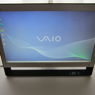 美品!21.5型FHD液晶搭載一体型PC ソニーVPCJ128F...