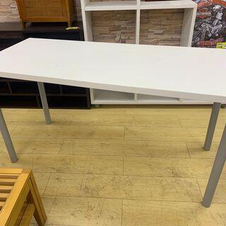 作業台 テーブル デスク 白 組み立て式テーブル ☆買取帝…