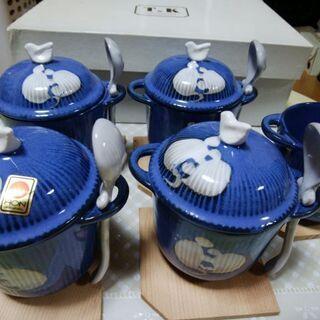 【お値下げしました】茶碗蒸し碗5客セット