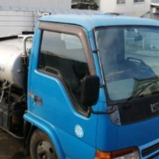 いすゞ エルフ バキュームカー 3tトラック ディーゼル 5MT
