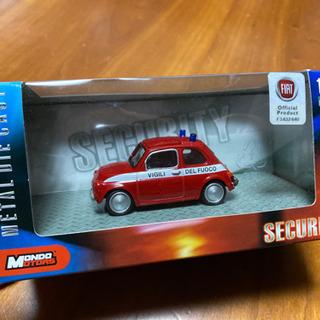 【Mondo Motors】消防車 ミニカー 1/43 フィアッ...
