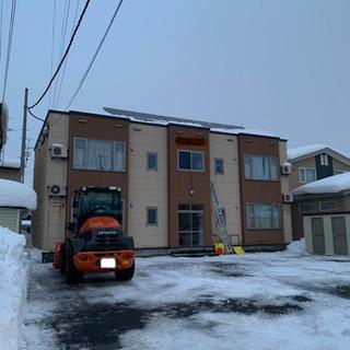 除雪排雪やります!屋根雪、雪庇落としも!