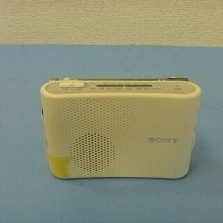 JM9489)SONY 手のひらサイズ FM・AM ハンディーポ...
