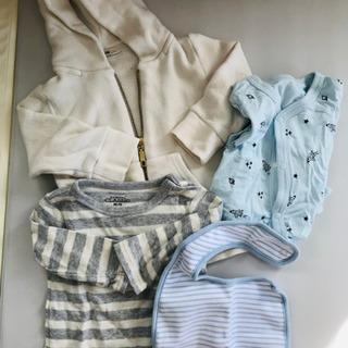 【ベビー服、スタイ】60〜70cmくらい