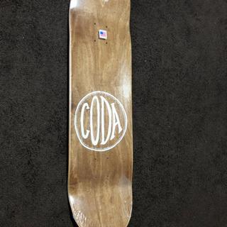 CODA スケートボード デッキHOBO 新品未使用