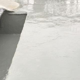セメン瓦屋根防水塗装工事。