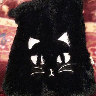 ふわふわ猫巾着