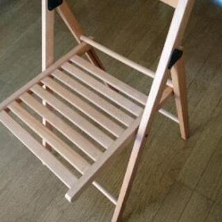 【ネット決済】IKEA TERJE 折りたたみ椅子