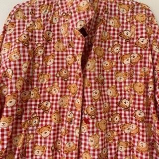 値下げ 授乳口付き マタニティ パジャマ Lサイズ くまの柄