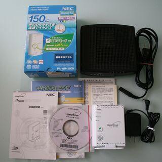 ■NEC Wi-Fi無線LAN ルーター Aterm WR410...