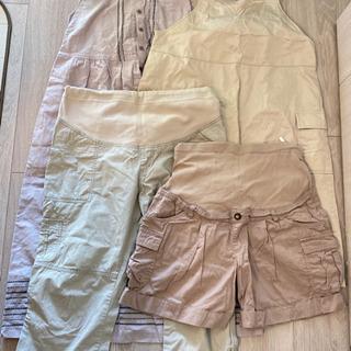 マタニティパンツ & スカート 4点セット