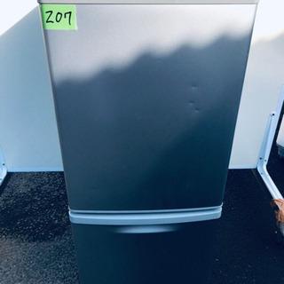 207番 Panasonic✨ノンフロン冷凍冷蔵庫✨NR-…