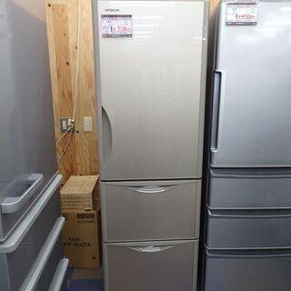 【配送設置無料エリア拡大】☆超美品☆ 日立 ノンフロン冷凍冷蔵庫 315L R-S32JV(XN) 2019年製の画像