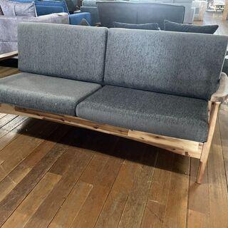 新品2Pソファー!木製フレーム!おしゃれなソファー6980…