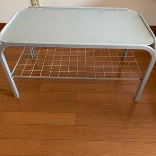 【ネット決済】ガラステーブル 一人暮らし