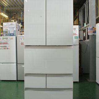 2019年製 東芝 6ドア冷蔵庫 GR-R510FZ。清掃・動作...