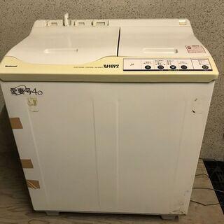 National ナショナル 愛妻号40 2層式電気洗濯機…