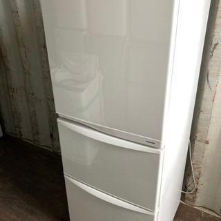 【重】1211-2 340L TOSHIBA 3ドア冷蔵庫 20...