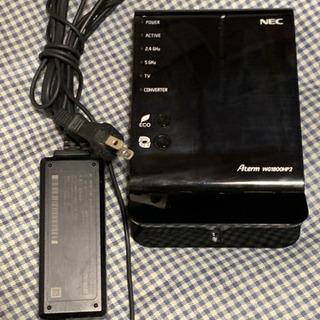 NEC製 wifiルーター WG1800HP2