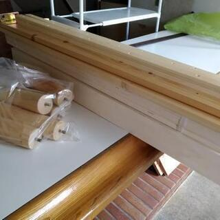 すのこシングルベッド - 売ります・あげます
