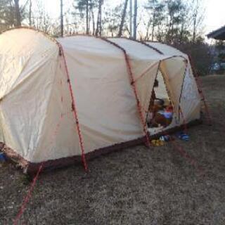 ドロミテ6 大型2ルームテント