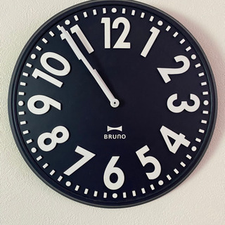 【ネット決済・配送可】掛け時計《bruno》