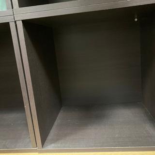 キューブ型カラーボックス【棚無し】